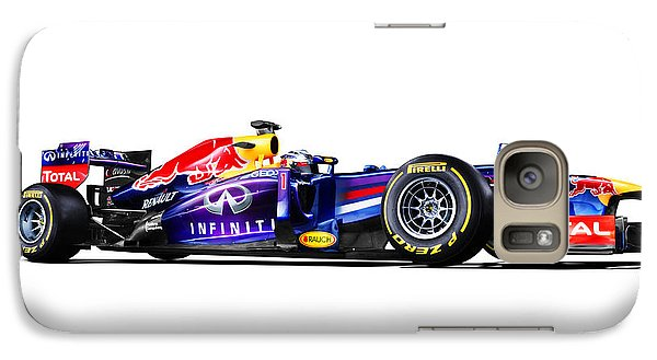 Galaxy Case featuring the photograph F1 Red Bull Rb9 by Gianfranco Weiss