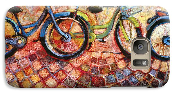 Bicycle Galaxy S7 Case - Fa Caldo Troppo Guidare by Jen Norton