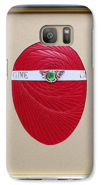 Galaxy Case featuring the mixed media Faberge Egg 1 by Ron Davidson