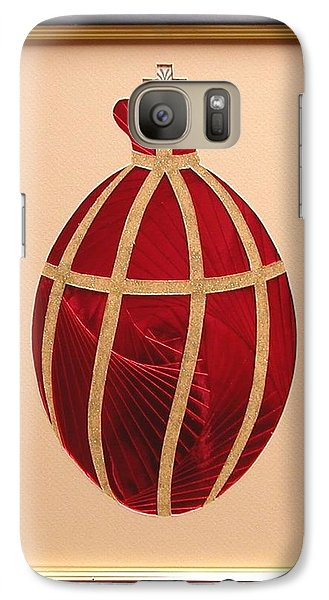 Galaxy Case featuring the mixed media Faberge Egg 2 by Ron Davidson
