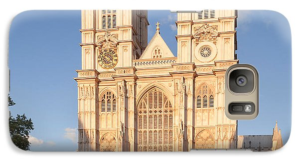 Facade Of A Cathedral, Westminster Galaxy S7 Case by Panoramic Images