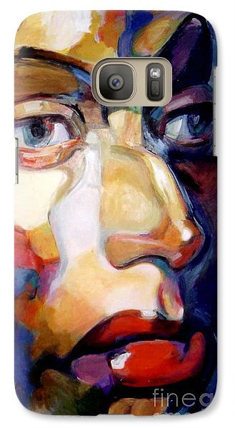 Galaxy Case featuring the painting Face Of A Woman by Stan Esson