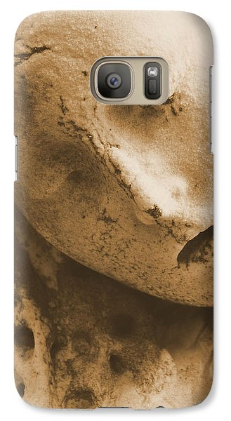Galaxy Case featuring the photograph Face Of An Angel by Nadalyn Larsen