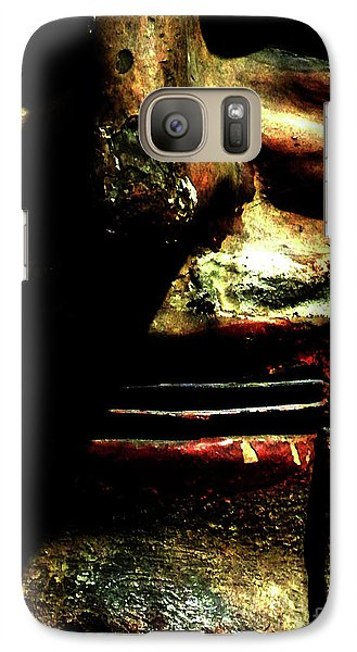 Galaxy Case featuring the photograph Face Time by Newel Hunter