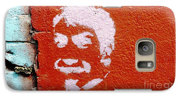 Galaxy Case featuring the photograph Face Without A Name by Ethna Gillespie