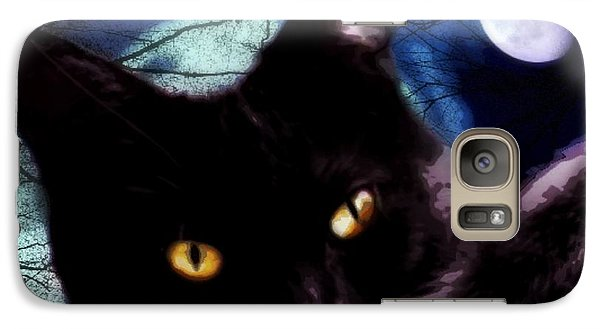 Galaxy Case featuring the digital art Face Your Fears  by Mindy Bench