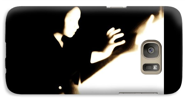 Galaxy Case featuring the photograph Faceless Magician  by Jessica Shelton