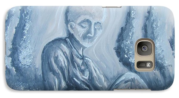 Galaxy Case featuring the painting Fade Away by Michael  TMAD Finney