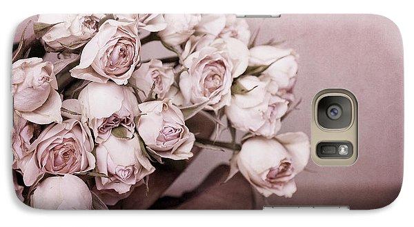 Rose Galaxy S7 Case - Fade Away by Priska Wettstein