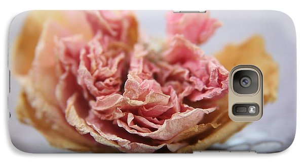 Galaxy Case featuring the photograph Faded Rose Iv by Lynn England