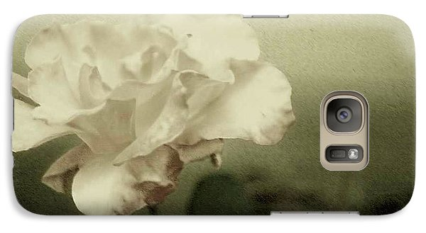 Galaxy Case featuring the photograph Faded Rose by Mary Wolf