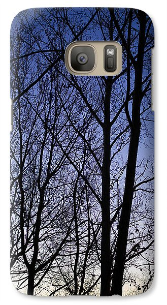 Galaxy Case featuring the photograph Fading Light Through The Sycamore Trees by Micah Goff