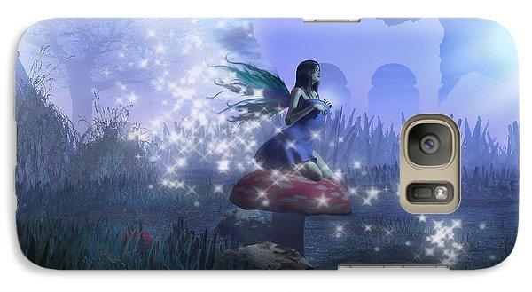 Galaxy Case featuring the digital art Faerie by David Mckinney