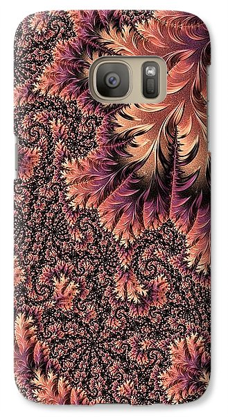 Galaxy Case featuring the digital art Faerie Forest Floor Ill by Susan Maxwell Schmidt