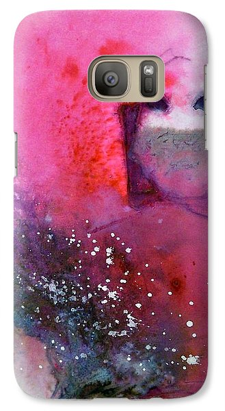Galaxy Case featuring the painting Shala by Ed  Heaton