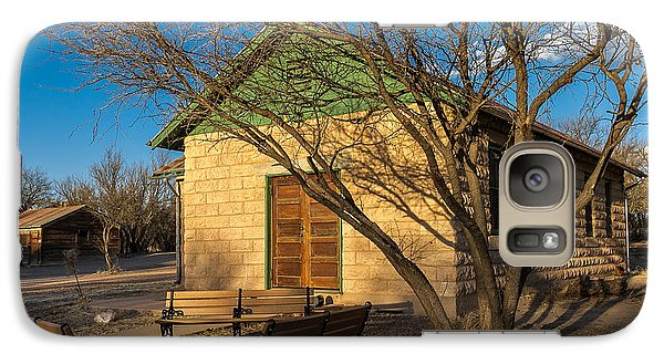 Galaxy Case featuring the photograph Fairbank Schoolhouse by Beverly Parks