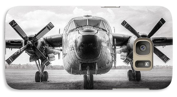 Galaxy Case featuring the photograph Fairchild C-119 Flying Boxcar - Military Transport by Gary Heller