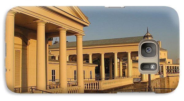 Galaxy Case featuring the photograph Fairmount Water Works by Christopher Woods