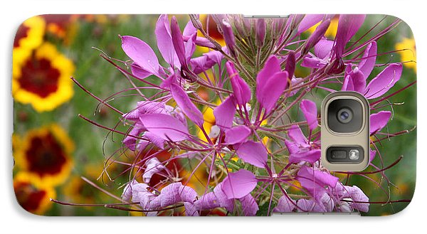 Galaxy Case featuring the photograph Fairy Flower by Susan Alvaro
