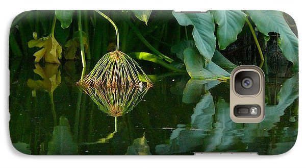 Galaxy Case featuring the photograph Fairy Pond by Evelyn Tambour
