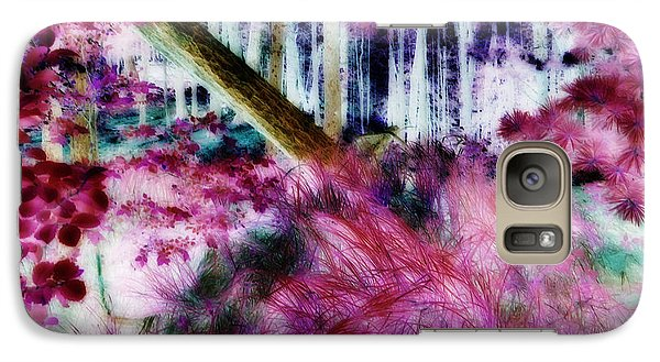 Galaxy Case featuring the photograph Fairy Tropicolor by Jamie Lynn