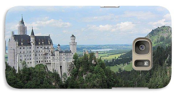 Galaxy Case featuring the photograph Fairytale Castle - 1 by Pema Hou