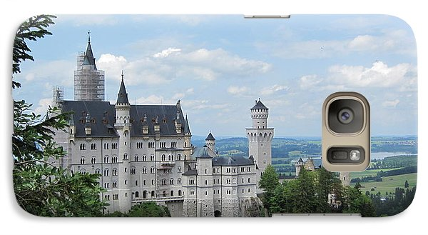 Galaxy Case featuring the photograph Fairytale Castle by Pema Hou