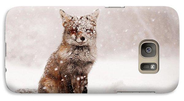 Fairytale Fox _ Red Fox In A Snow Storm Galaxy S7 Case