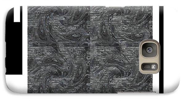 Galaxy Case featuring the digital art Faith by Ann Calvo