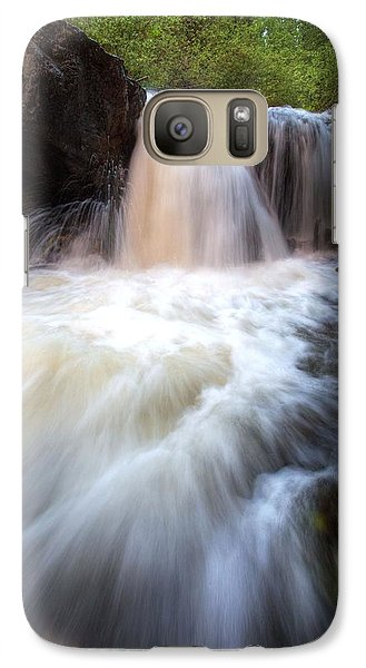 Galaxy Case featuring the photograph Fall And Splash by David Andersen