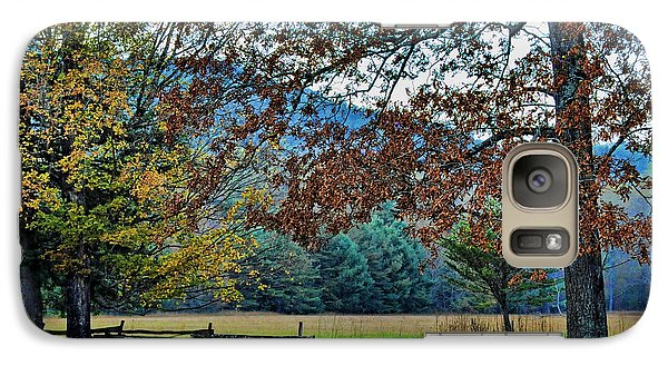 Galaxy Case featuring the photograph Fall At Cades Cove by Kenny Francis