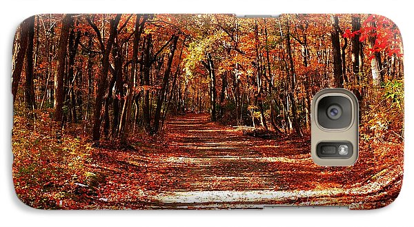 Galaxy Case featuring the photograph Fall At Cheesequake by Raymond Salani III