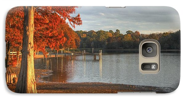 Galaxy Case featuring the photograph Fall At Georgia Lake by Donald Williams
