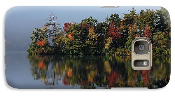 Galaxy Case featuring the photograph Fall At Heart Pond by Kenny Glotfelty