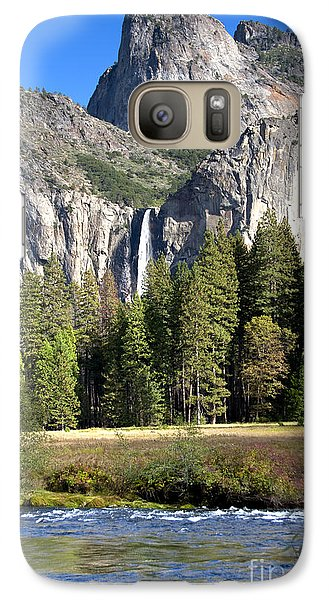 Galaxy Case featuring the photograph Yosemite National Park-sentinel Rock by David Millenheft