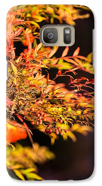 Galaxy Case featuring the photograph Fall Berries by Mike Lee