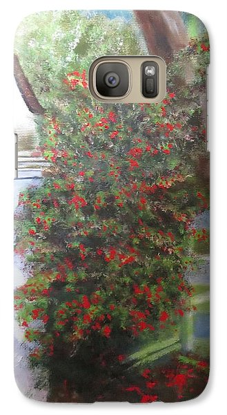 Galaxy Case featuring the painting Fall Berries by Sharon Schultz