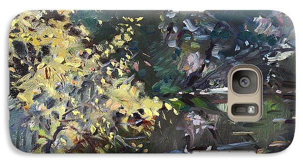 Geese Galaxy S7 Case - Fall By The Pond by Ylli Haruni