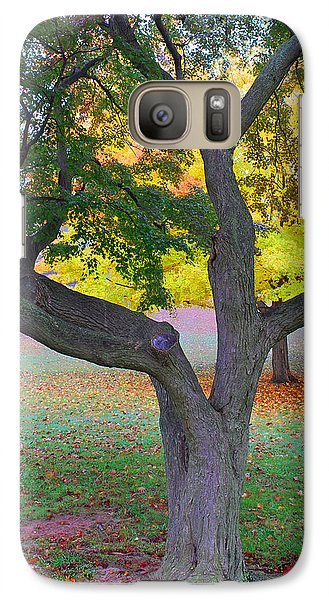 Galaxy Case featuring the photograph Fall Color by Lisa Phillips