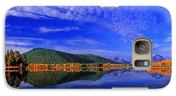 Galaxy Case featuring the photograph Fall Color Oxbow Bend Grand Tetons National Park Wyoming by Dave Welling