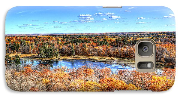 Galaxy Case featuring the photograph Fall Colors At Itasca State Park by Shawn Everhart