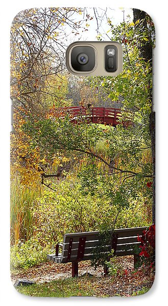 Galaxy Case featuring the photograph Fall Colors by Cendrine Marrouat