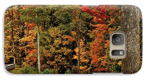 Galaxy Case featuring the photograph Fall Colors by Debra Crank