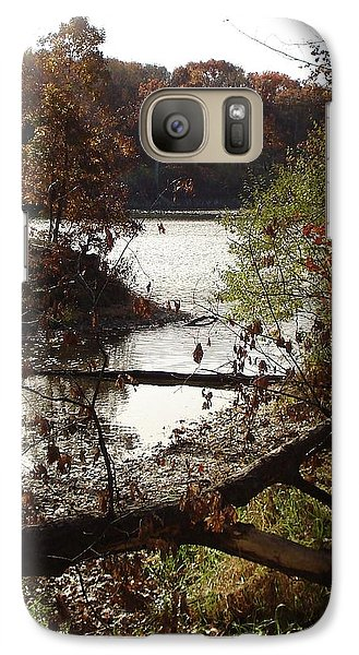 Galaxy Case featuring the photograph Fall Colors by J L Zarek
