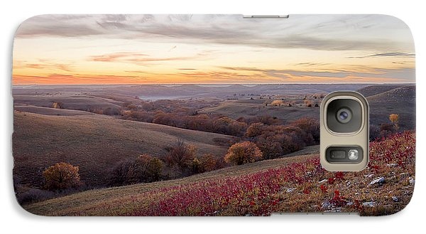 Galaxy Case featuring the photograph Fall Colors by Scott Bean