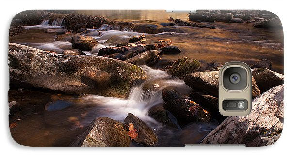 Galaxy Case featuring the photograph Fall Creek by Rebecca Hiatt