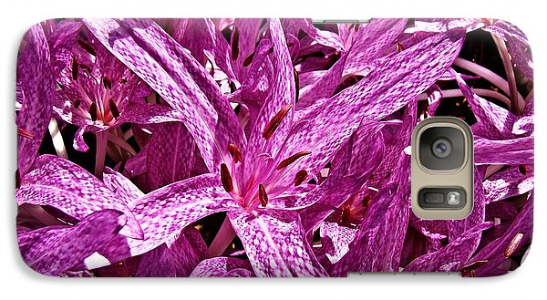 Galaxy Case featuring the photograph Fall Crocus by Nick Kloepping