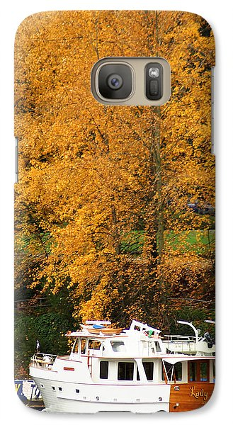 Galaxy Case featuring the photograph Fall Cruise by Erin Kohlenberg