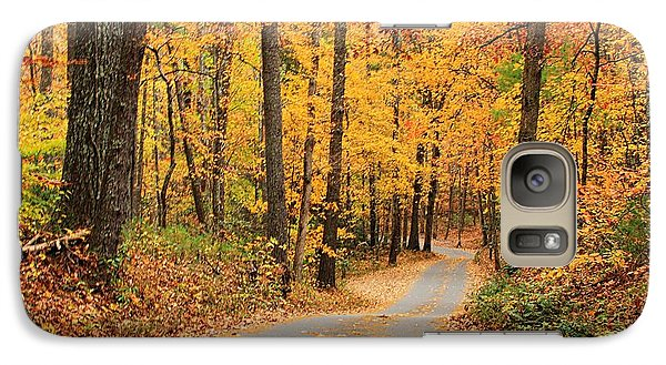 Galaxy Case featuring the photograph Fall Drive by Geraldine DeBoer