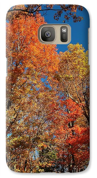 Galaxy Case featuring the photograph Fall Foliage by Patrick Shupert